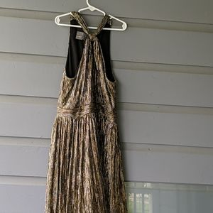 Sparkle gold dress, pairs with anything